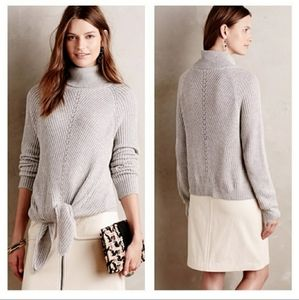 Moth Tie Front Sweater